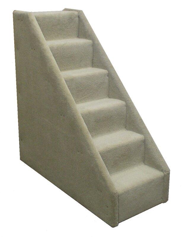 Bearu0027s Stairs™ Mini Carpeted 6 Step Pet Stair