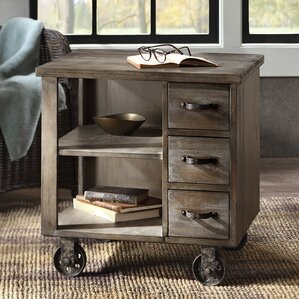 Laurel Foundry Modern Farmhouse Remy End Table With Storage Image