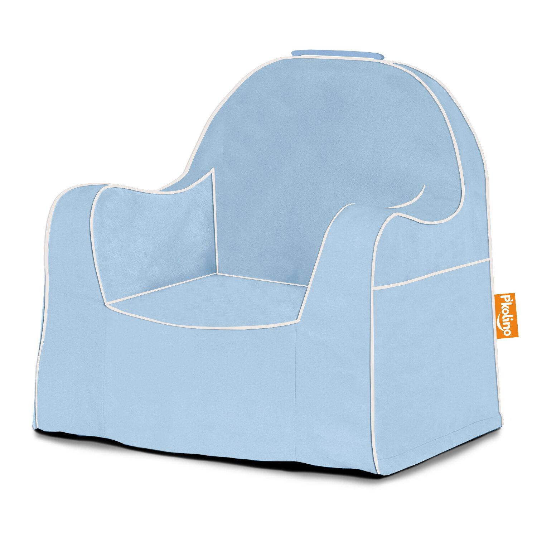 P\'kolino Little Reader Personalized Kids Foam Chair with Storage ...