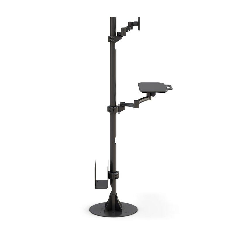 Best Mounting Floor Mounted Height Adjustable Workstation