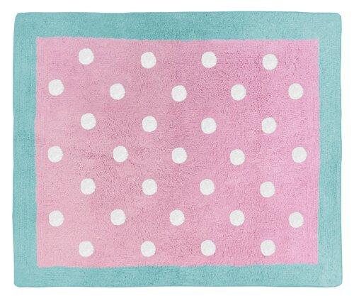 Sweet Jojo Designs Skylar Hand-Tufted Pink Area Rug