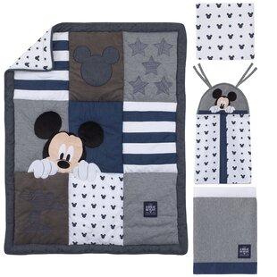 e45d6fcb94 Disney Mickey Mouse Hello World 4 Piece Crib Bedding Set. By Carter s®
