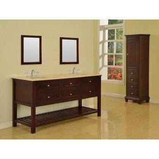 Mission Spa 70 Double Bathroom Vanity Set