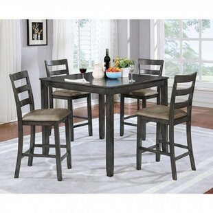 Theriot Counter Height 5 Piece Dinning Set