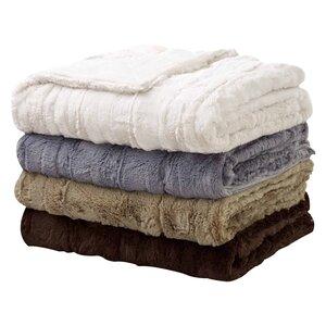 Florencio Embossed Throw Blanket