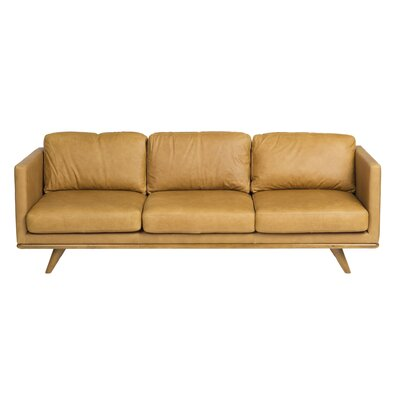 Modern Brown Leather Sofas Couches Allmodern