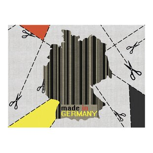 Germany Map Wallpaper Mural by East Urban Home