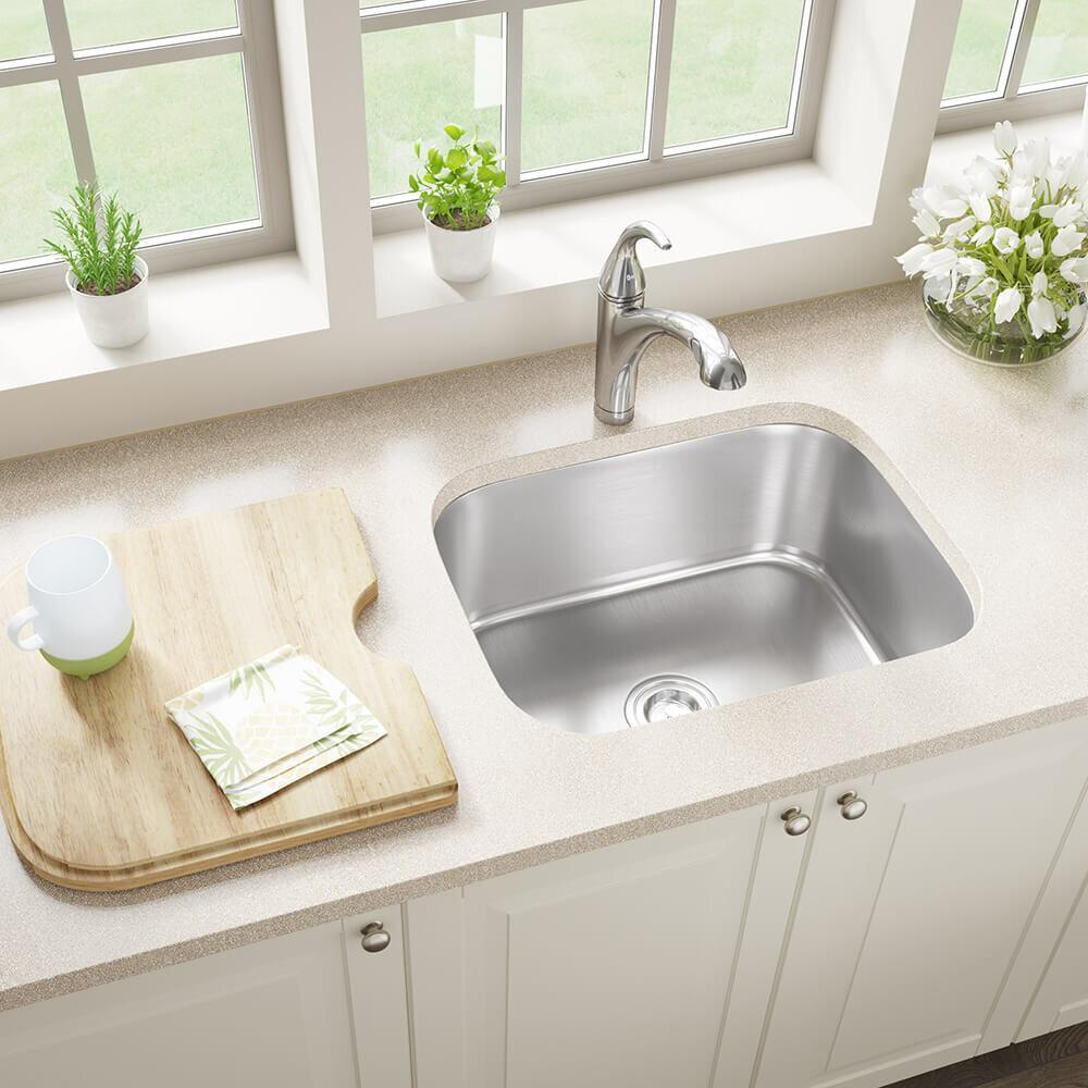 Us1038 stainless steel 24 x 18 undermount kitchen sink