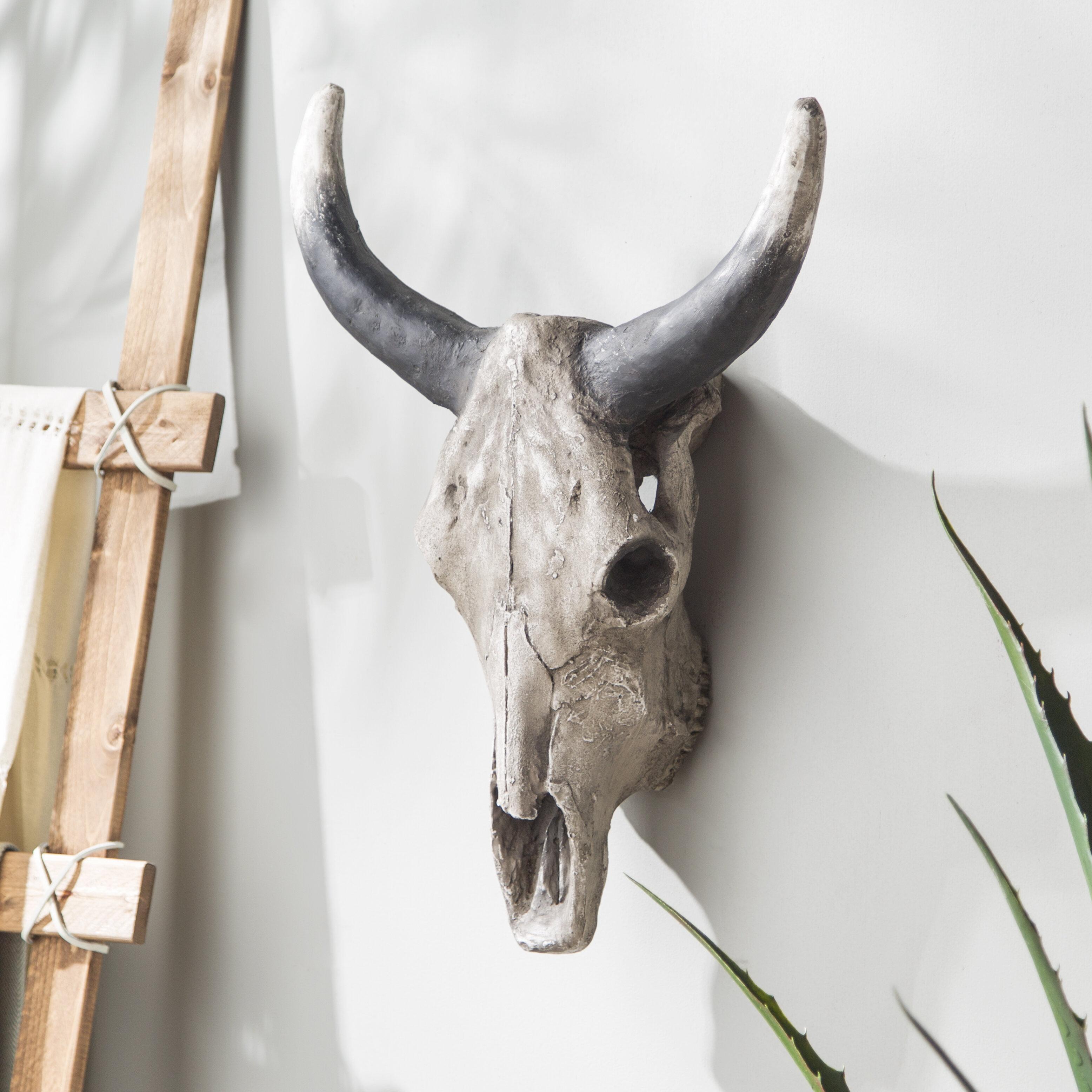 animal head wall decor Union Rustic Polyresin Animal Head Wall Décor & Reviews | Wayfair animal head wall decor