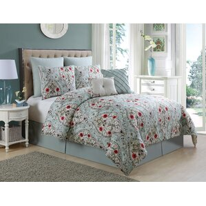 junia 8 piece comforter set - Oversized King Comforter