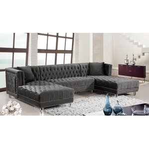 Paulene Reversible Sectional by Everly..