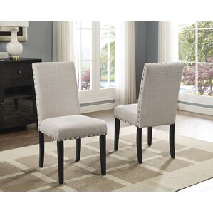 Charandeep Uphostered Dining Chair (Set of 2) by Gracie Oaks