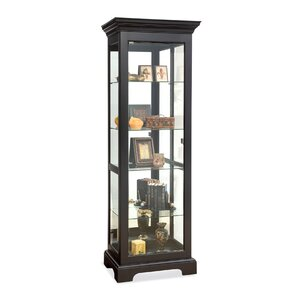 Newport Lighted Curio Cabinet by Philip R..