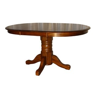 Stratton Solid Oak Extendable Solid Wood Dining Table
