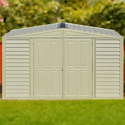 storage shed woodbridge 10 ft 5 in w x 5 ft 2 in d - Garden Sheds 5 X 9