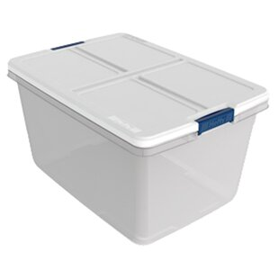 66 Qt. Plastic Storage Tote (Set Of 6)