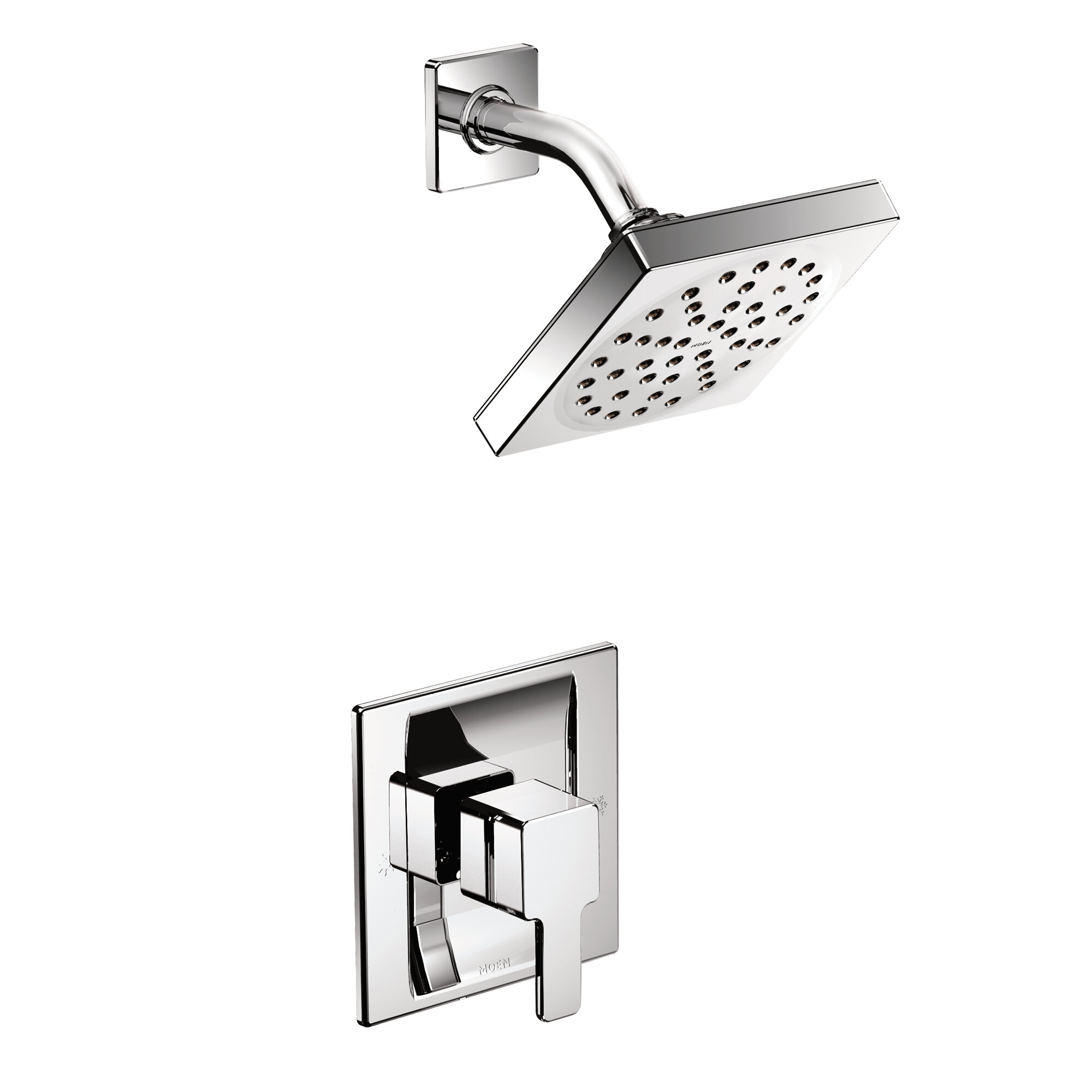 Shower Faucet.90 Degree Shower Faucet With Posi Temp