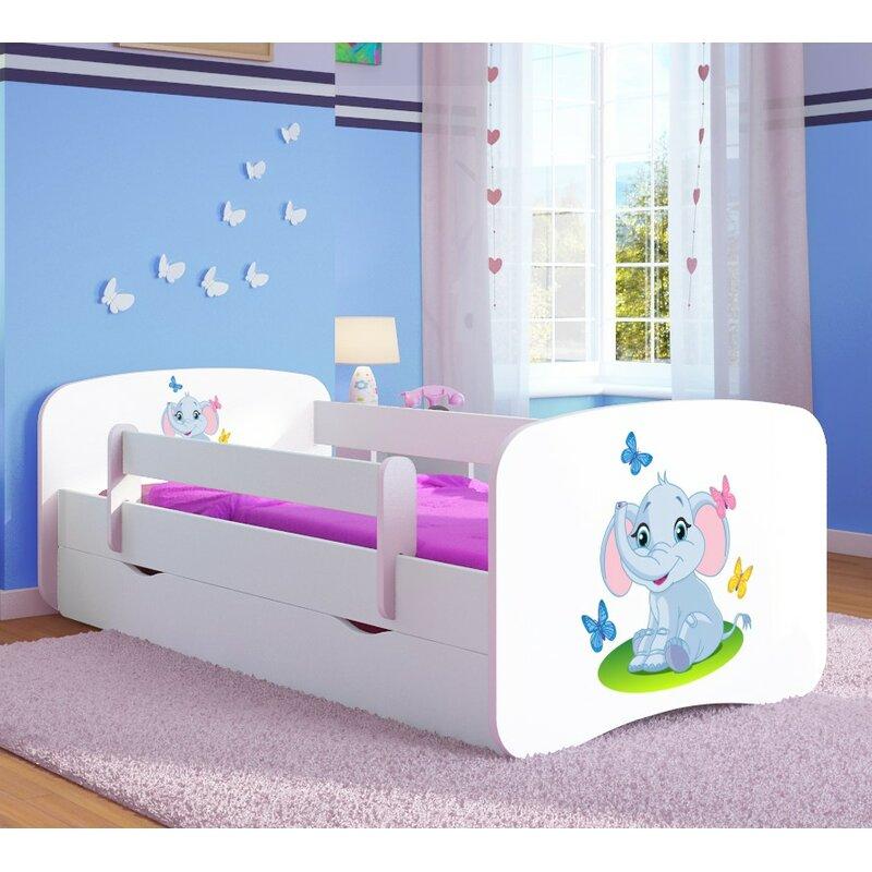 kocot kids funktionsbett elephant mit matratze und schublade bewertungen. Black Bedroom Furniture Sets. Home Design Ideas