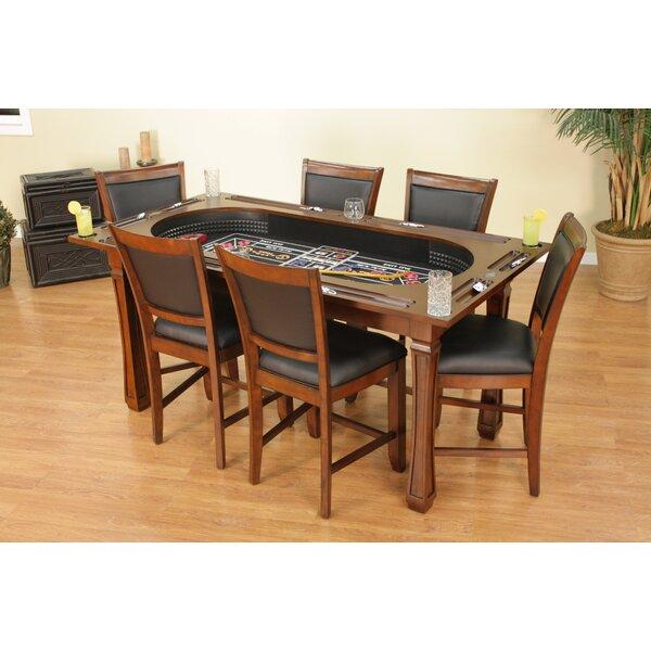 American Heritage Burlington 3 Craps Table Set & Reviews