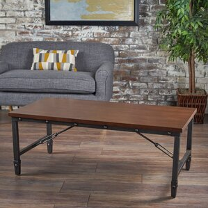 Bertha Wood Coffee Table by Williston Forge