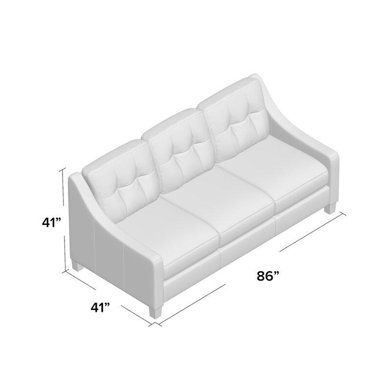 Stouffer Leather Sofa