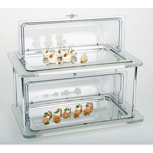 Doppeldecker Buffet Display Case Set by APS