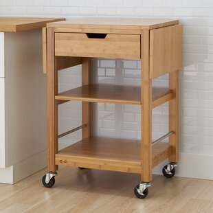 Wenlock Bamboo Kitchen Cart