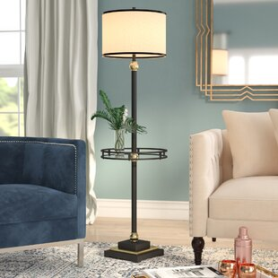 Lamps with a table youll love wayfair borowski 60 floor lamp aloadofball Image collections