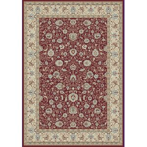 Morocco Red Area Rug