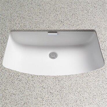 toto soire rectangular undermount bathroom sink with overflow reviews wayfair