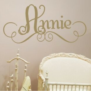 Annieu0027s Personalized Wall Decal