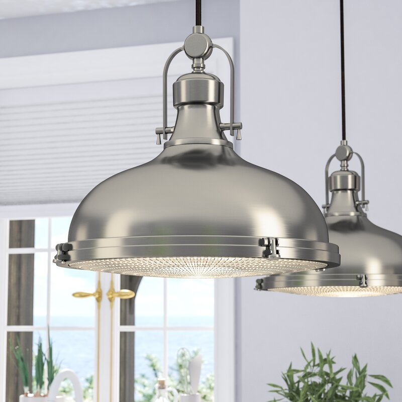 Laurel Foundry Modern Farmhouse Freeda 1 Light Dome