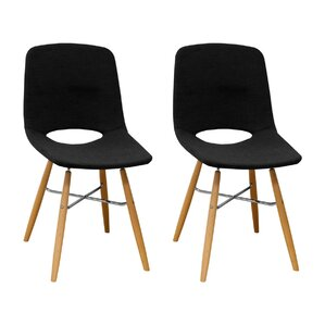 Jedidiah Upholstered Dining Chair (Set of 2) by Corrigan Studio