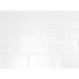 Frosted Elegance 3 X 6 Gl L Stick Subway Tile In White