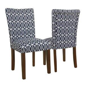 Zariyah Parsons Trellis Upholstered Dinin..
