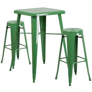 Linn 3 Piece Bar Table Set by Williston F..