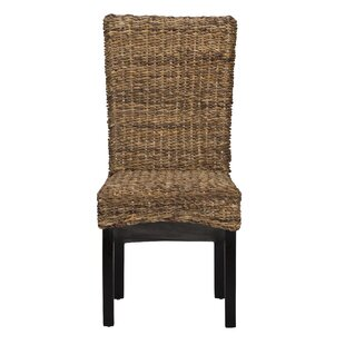 Anaya Dining Chair (Set of 2)  sc 1 st  Wayfair & Wicker u0026 Rattan Kitchen u0026 Dining Chairs Youu0027ll Love | Wayfair