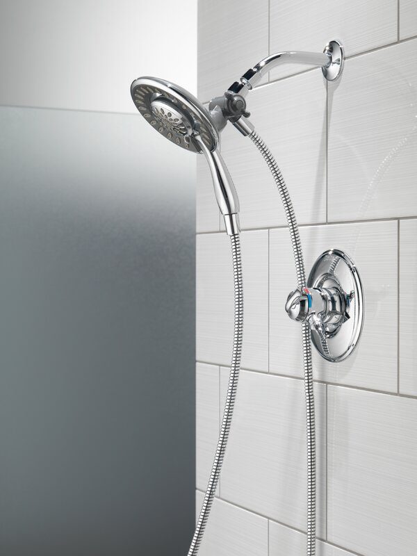 Delta Linden Dual Function Complete Shower System & Reviews | Wayfair