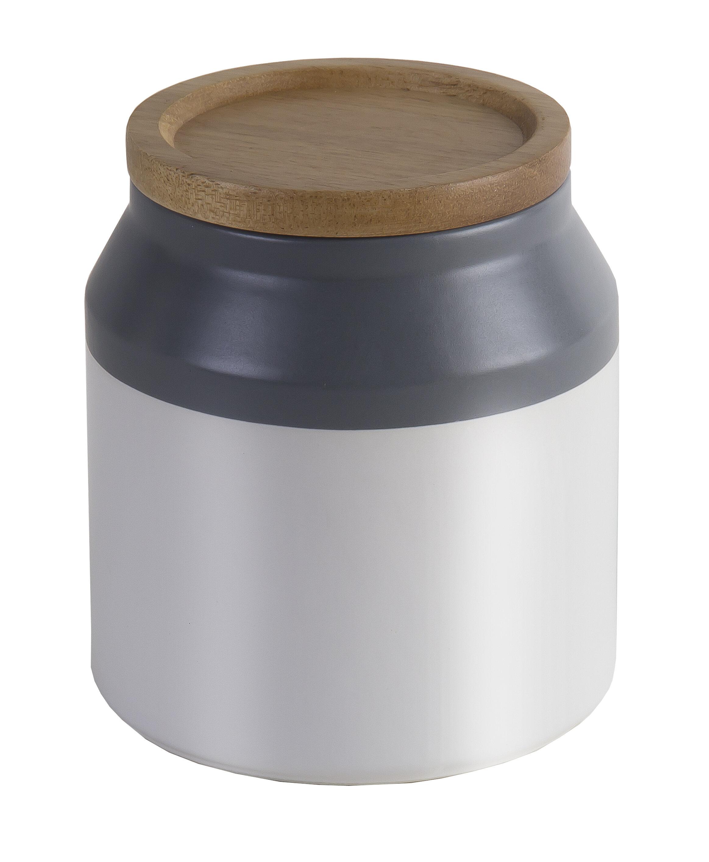 Jamie Oliver Food Ceramic Storage Jar With Wooden Lid Reviews Wayfair