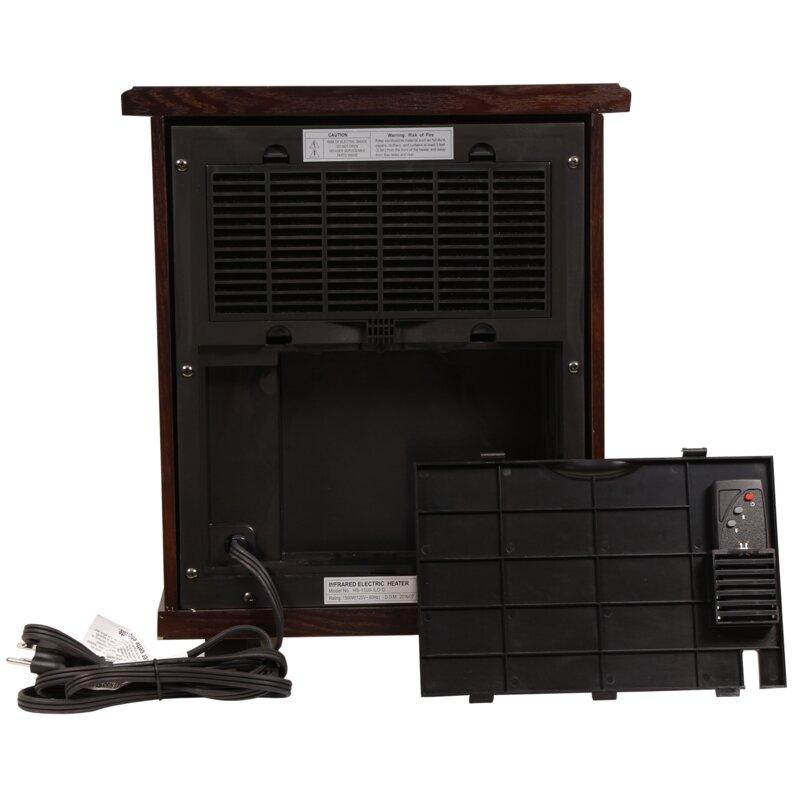 Delicieux Logan Deluxe Portable 1,500 Watt Electric Infrared Cabinet Heater