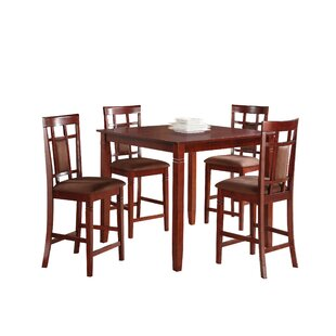 Inoue 5 Piece Counter Height Dining Set
