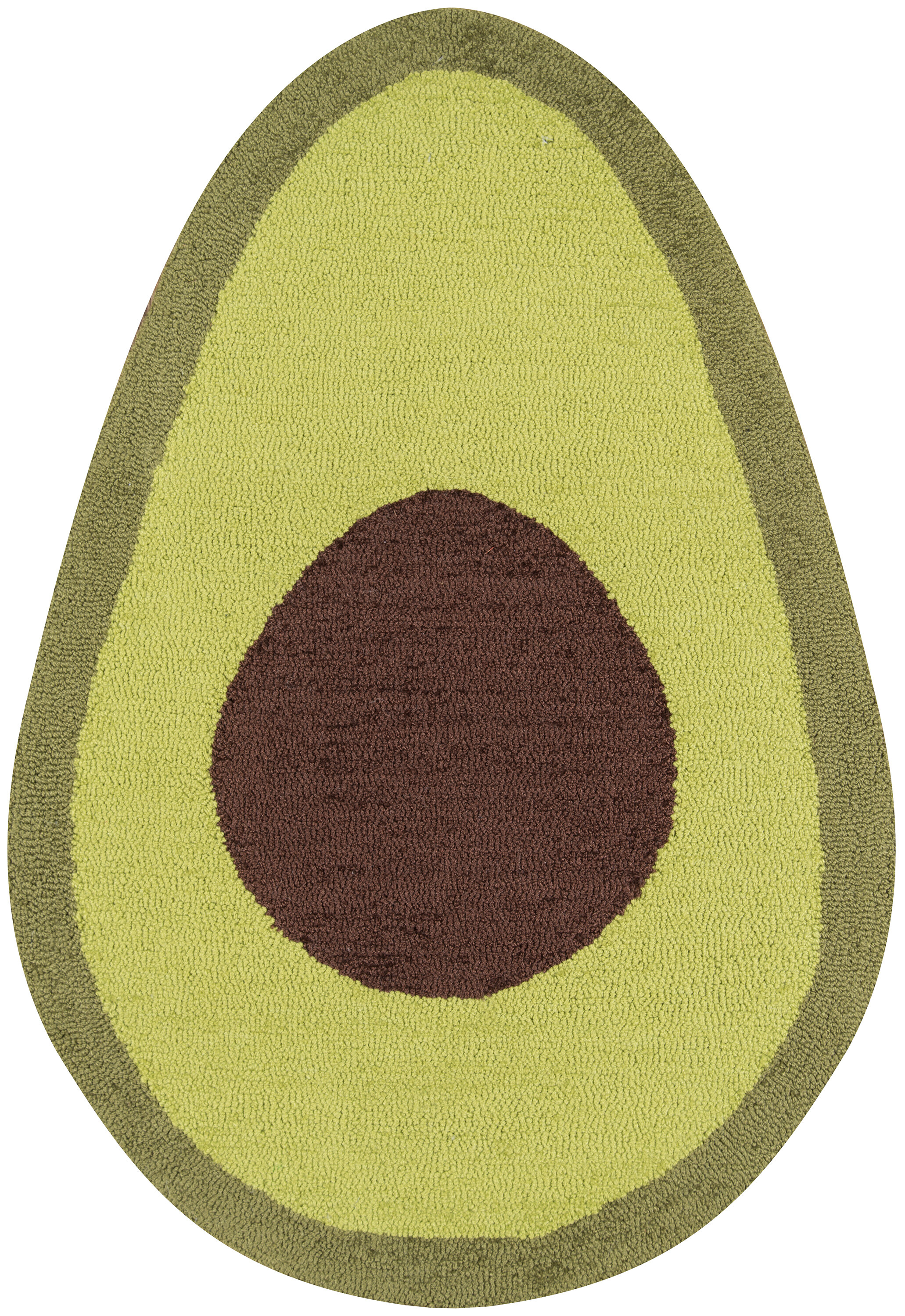 Novogratz Cucina Avocado Kitchen Mat | Wayfair