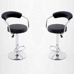 Carrero Adjustable Height Bar Stool (Set of 2)