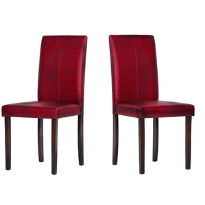 Linthicum Upholstered Dining Chair (Set o..