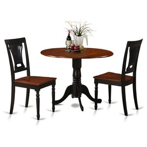 Dublin 3 Piece Dining Set by Wooden Impor..