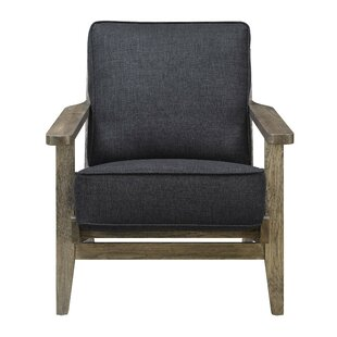 Modern Contemporary Accent Chairs With Wooden Arms Allmodern