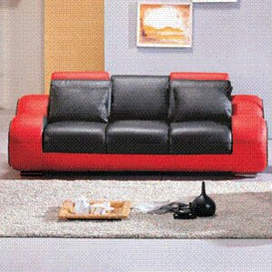 Hematite Leather Configurable Living Room Set by Hokku Designs