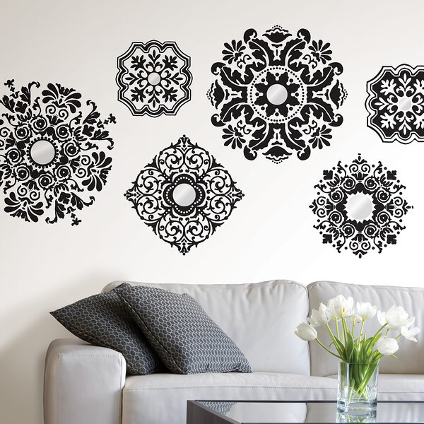 WallPops Kits 12 Piece Baroque Wall Decal Set u0026 Reviews | Wayfair