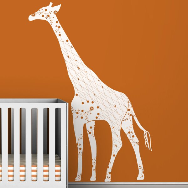 Black Label Cornet Giraffe Wall Decal Amp Reviews Allmodern