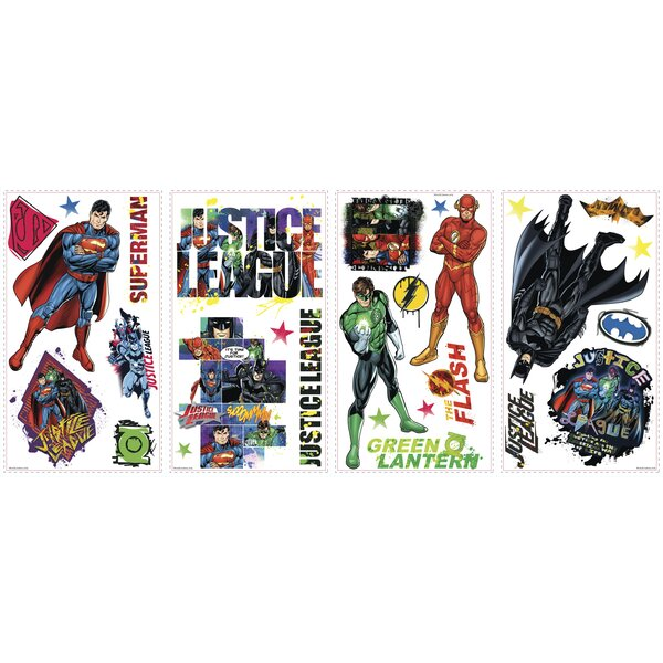 Room Mates Popular Characters Justice League Wall Decal & Reviews